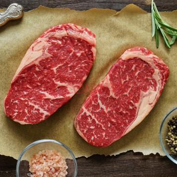 219元包邮!进口牛排:卓宸 阿根廷谷饲眼肉牛排 1000g 5片装 原切牛肉