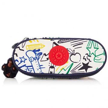 213.18元德国直邮!Kipling 凯浦林 DUOBOX 涂鸦笔袋 20 cm(多花色)