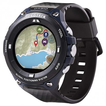 Casio 卡西欧 Pro Trek系列 WSD-F20A-BUAAU 户外智能GPS运动手表 亚马逊海外购