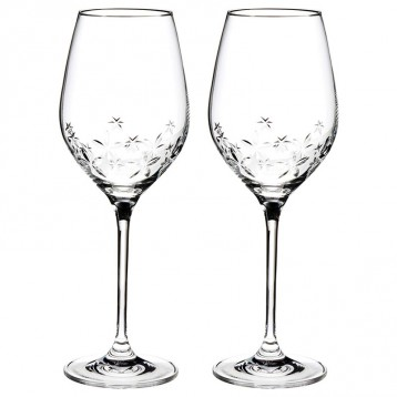 NARUMI 鸣海 GW4156-62723A 星之花 红酒玻璃对杯  亚马逊海外购
