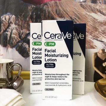 CeraVe Moisturizing Facial 夜间美白保湿修复乳液 89MLx2 亚马逊海外购