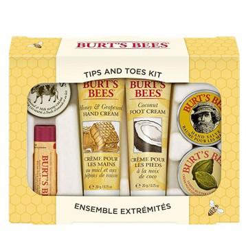 74.85元美国直邮!Burt's Bees 小蜜蜂 Tips and Toes Kit礼品套装
