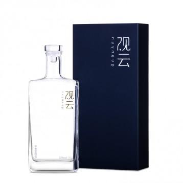 279元包郵!一帶一路外事活動專用酒 觀云 純糧釀造52度濃香型白酒 500ml 禮盒裝