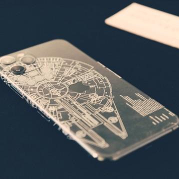 【椒叔晒单】2020新年的保护膜:SkinAT星战系列 iPhone 11 Pro版