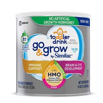 108.69元美国直邮!Similac 美版雅培 Go & Grow 心美力 含2'-FL HMO 3段婴幼儿配方奶粉680g