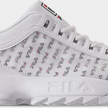 女款 Fila Disruptor 2 Clear Logo Casual Shoes 4折好价,241.5元