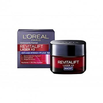 L'Oréal Paris 歐萊雅 Revitalift Laserx3 復顏光學緊致嫩膚去皺 晚霜/日霜 50ml