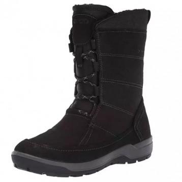 US6-6.5码,ECCO 爱步 Trace Lite 女士Hydromax®防泼水加绒雪地靴