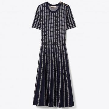 Tory Burch链条花纹长裙 额外7折价:1684.87元