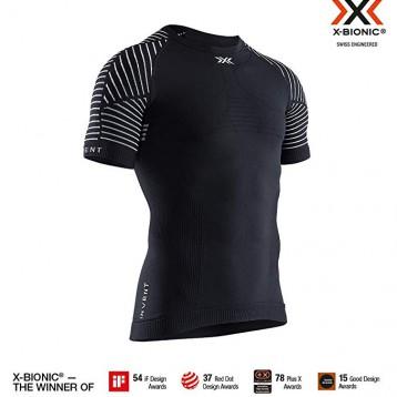 史低258.23元英国直邮!X-Bionic Invent 4.0 优能系列 男士圆领短袖T恤/压缩衣