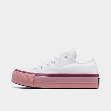 Converse 匡威 All Star x OPI 联名款 女子厚底帆布鞋 特价$55(¥442.75)