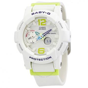 Casio 卡西欧 Baby-G 系列 白色运动腕表 BGA-180-7B2DR 7.1折+免官网运费