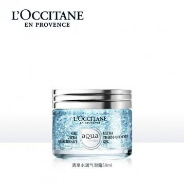 新品,L'OCCITANE 歐舒丹 清泉水潤氣泡霜50ml