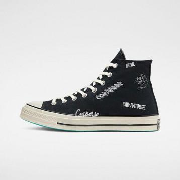Converse 匡威 Chuck 70 黑色徽标高帮鞋 额外7.5折价:392.26元