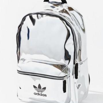adidas Originals 阿迪达斯三叶草 Mini Metallic Backpack 金属镭射双肩包 额外7折价:168.99元