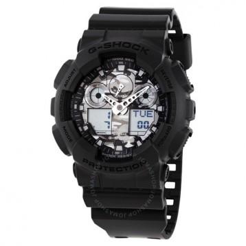 Casio 卡西欧 G-Shock 系列 黑色男士运动腕表 GA-100CF-8ADR 6.5折+免官网运费