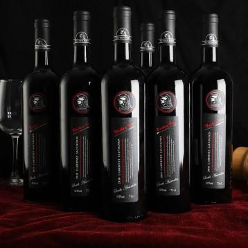 268元整箱包邮!澳大利亚原瓶进口 纳丹堡将军系列干红葡萄酒750MLx6瓶
