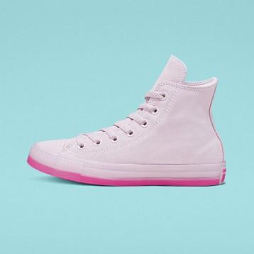 Converse 匡威 All Star 粉色绒面高帮鞋 额外7.5折价:301.7元