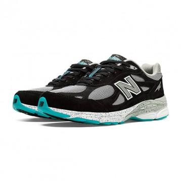 限US7码,New Balance 新百伦 美产 990V3 男士第三代总统慢跑鞋M990GB3