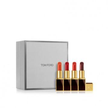 TOM FORD 汤姆·福特 黑金黑管唇膏 4色礼盒套装(#07+#06+#16+#09)