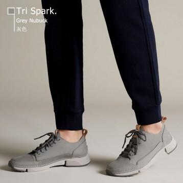 Clarks 其乐 Tri Spark 女士真皮运动鞋