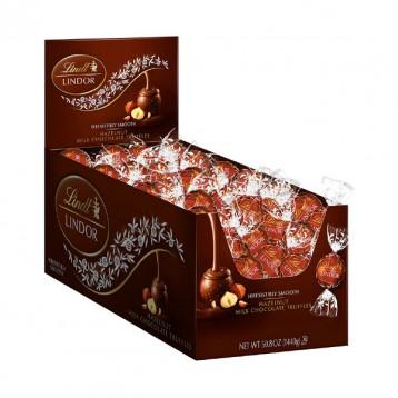 Lindt 瑞士莲 榛子牛奶松露巧克力 120粒(1440克)