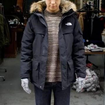 多色多码,The North Face 北面 McMurdo Parka III 男士550蓬带毛领连帽羽绒服