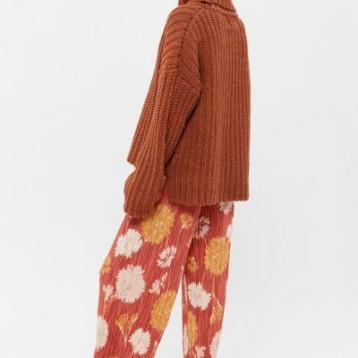 UO Mackie Pleated Pull-On Pant 百褶阔腿裤 $59(¥474.95)