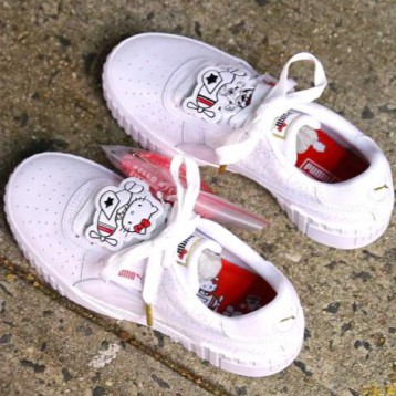 PUMA x HELLO KITTY Cali 女款板鞋