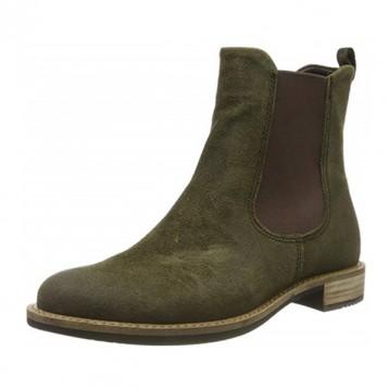 39码,ECCO 爱步 Sartorelle 25 型塑系列 女士真皮切尔西短靴266503