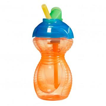 MunchKin 麦肯齐 防摔防漏儿童吸管杯 266ml (橙色) 6.6折+满减+免邮