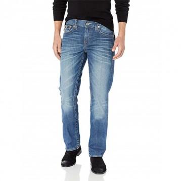 W33碼,True Religion 真實信仰 Ricky 男士純棉直筒牛仔褲