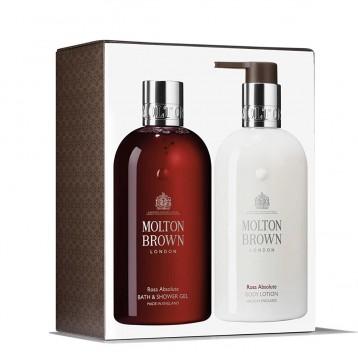 Molton Brown 摩登布朗 Rosa Absolute 纯正玫瑰沐浴露身体乳套装(300ml*2瓶装)198.5元