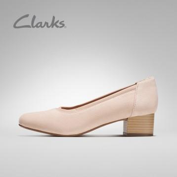 Clarks 其乐 Chartli Fame 复古英伦粗跟单鞋 限尺码