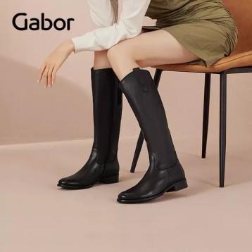 38码,GABOR 嘉步 Fashion系列 女士牛皮长筒靴