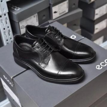 销量第一,Ecco 爱步 Lisbon里斯 男士牛皮系带牛津鞋