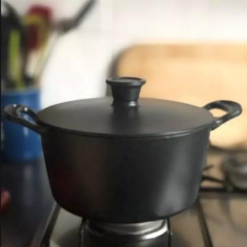 直降¥100!Tefal 特福 Jamie Oliver名廚系列 E2124614 琺瑯鑄鐵鍋 24cm/4.7L