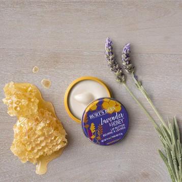 Burt'S Bees 小蜜蜂 天然保濕潤唇膏 薰衣草和蜂蜜 11.3g