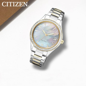 Citizen 西鐵城 EO1184-81D 光動能女士手表?亞馬遜海外購