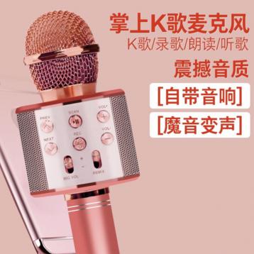 58元京东拼购!爱福克斯(IPHOX)手机麦克风 全民K歌音响话筒(三色)