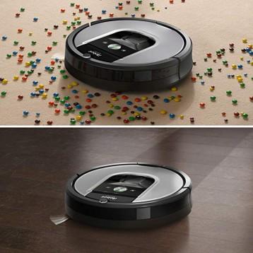 新低好价!旗舰系列,iRobot Roomba 960 全自动智能扫地机器人