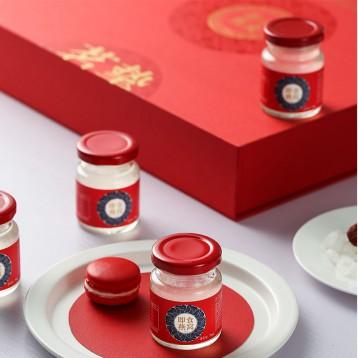 希尔顿国际酒店供应商,茗挚 小红瓶 即食冰糖燕窝70ml*15瓶礼盒