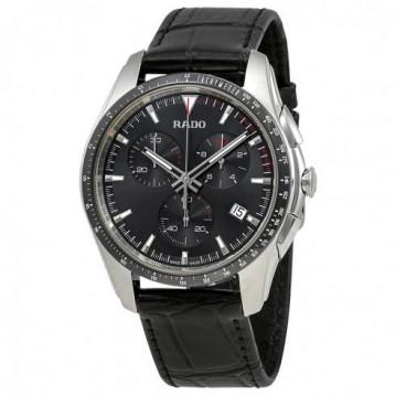 Rado HyperChrome Chronograph Black Dial 男款 Watch 6.9折+免官網運費