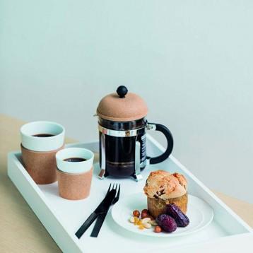 BODUM 波頓 Chambord 不銹鋼濾壓手沖咖啡壺 500ml 亞馬遜海外購