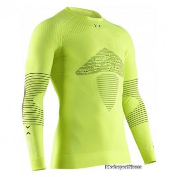 码全,X-Bionic 男式 Energizer4.0 激能系列 压缩衣圆领长袖T恤
