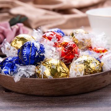 Lindt 瑞士蓮 Lindor系列 混合裝巧克力球300g(約23顆)