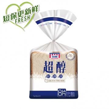 34.90元包邮!曼可顿 超醇系列 吐司面包三明治DIY早餐【7天短保超鲜】2包