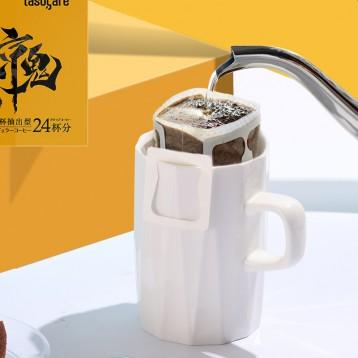 47元包邮!日本进口 隅田川 京鬼系列特浓挂耳咖啡 现磨纯黑咖啡粉 24片装