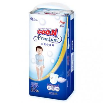 京东自营239.1元拍2件!GOO.N 大王 天使系列 婴儿拉拉裤 XL36片