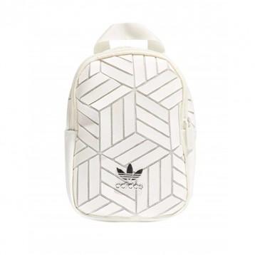 再降!Adidas阿迪达斯三宅一生联盟款mini双肩包 白/黑色